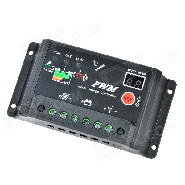 SC-20 20A Solar Controller / Solar Power System / Street Lighting / Solar Home / Regulator - Black