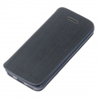 Fashionable Flip-Open Protective PU Leather Case Cover for Iphone 5C - Deep Blue