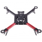 HJ-X330 Black Glass Fiber 4 Axis Frame Multiaxial Rack 4 Axis Aircraft Compatible for KK MWC - Red