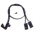 HJ AV / Holder / Charger Cable for Gopro Hero 3 TL68A00 Gimbal Camera Mount FPV - Black