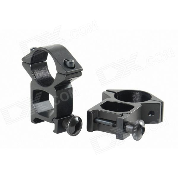 3-9x40 Mil-Dot Caça liga de alumínio Scope Mount gratuito para Rifle - Preto (1 x CR2032)