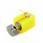 Jtron 4 x 6.5mm Mini Coreless Vibration Motor - Yellow (DC 3 V / 5 PCS)