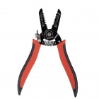 BYXAS PSW-100 Wire Strippers 0.6~2.6mm Electrician Lineup Pliers / Wire Stripper - Red + Black