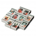 FBI 10 Most Wanted Series Match Sticks (10-Box Pack)