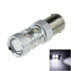 1156 / BA15S / P21W 50W 700lm 10 LED Branco Car Steering Luz / Luz Backup - (12 ~ 24V)
