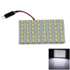 FD5630-48W T10 / BA9S 5W 600lm 48-SMD 5630 LED White Light Car Reading Light - (12V)