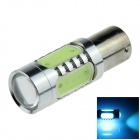 1156 / BA15S / P21W 7.5W 500lm 5-LED Ice Blue Car Steering Light / Tail Light - (12~24V)