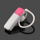PowerBlue LH716 Bluetooth V4.0+EDR+eSCO Wireless Headset - White + Deep Pink