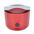 GGG smart portable Stereo Bluetooth 2.1 Wireless Mini Speaker w / TF / Hand-freie Funktion - Red