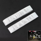 Velcro Light Reflection Arm Band for Night Cycling - Silver (2 Pieces/Set)