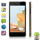 "XIAOCAI X9 Quad Core Android 4.2 WCDMA Bar Phone w/ 4.5"" OGS IPS, Wi-Fi, GPS, 4GB ROM - Golden"