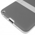 ENKAY Protective TPU Back Case w/ Holder Stand for Samsung Galaxy Note 3 N9000 - Grey