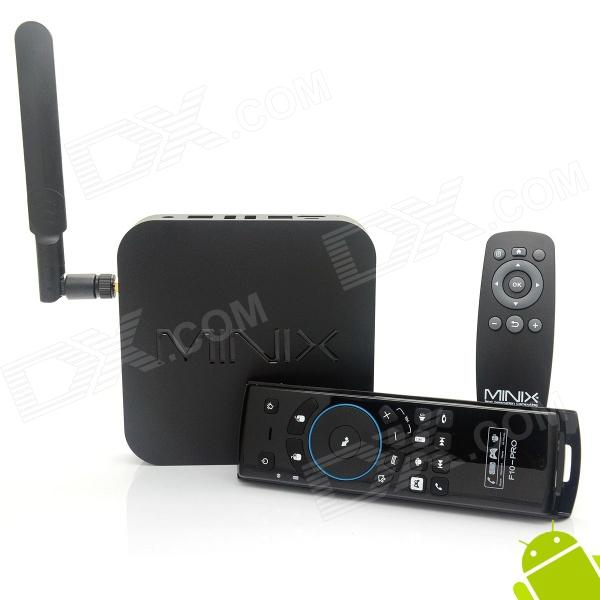 MINIX NEO X7 Android Google TV Player w/ 2GB RAM, 16GB ROM - Black
