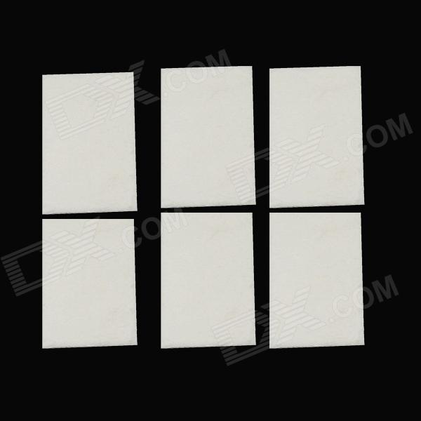 BZ89 GOPRO Camera Anti-Fog Inserts Boards of GoPro Hero 1 / Hero2 / Hero3 / Hero3 + - White (6 PCS) a af professional reusable anti fog inserts for gopro hero 4 3 3 2 1 sj4000 12 pcs