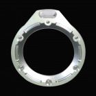 BZ43- Aluminum Alloy Lens Ring for Gopro Hero2 - Silvery White
