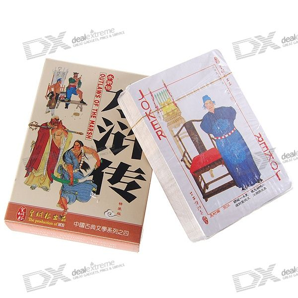 water-margin-series-poker-card