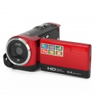 "DV-777-B 2,7 ""TFT-LCD-Max 16.0 MP 16X Digital-Zoom Video Camcorder - Red"