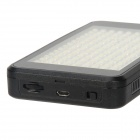 LED-VL011 10W 700Lux 150-LED Professional Video Light w/ 2 x Filters + Cradle Head - Black