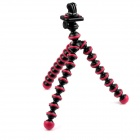 PANNOVO 360 Degree Rotation Portable Stand Holder Octopus Tripod for GoPro Hero 2/3/3+/SJ4000 - Red