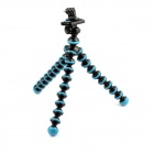 PANNOVO 360' Rotation Portable Stand Holder Octopus Tripod for GoPro Hero 2/3/3+/SJ4000 - Deep Blue