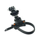 HighPro Bicycle Motorcycle Handlebar Zip-Tie Strap Mount for Gopro Hero 4/ / Hero2 / Hero3 - Black