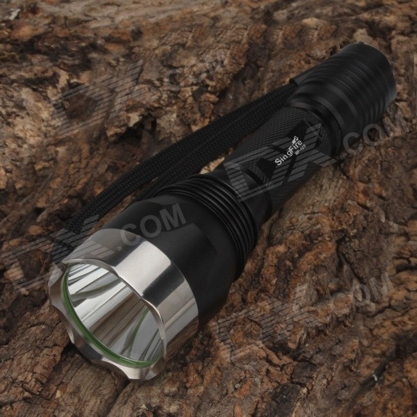 SingFire SF-103 600lm 5-Mode Memory White Tactical Flashlight - Black (1 x 18650) Fremont Покупка б у товаров