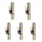 Jtron 4*12mm Cell Phone Coreless Vibration Motor - Silver (5PCS)