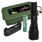 SingFire SF-101A 600lm 5-Mode Memory White Tactical Flashlight - Black (1 x 18650)