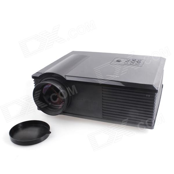 PH500 5 LCD HD Home Theater Projector w/ AV / HDMI / VGA / S-Video / YPbPr - Black ruiq sv 128 2600 lumens android 4 0 lcd projector w hdmi vga ypbpr black