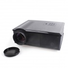 "PH500 5"" LCD HD Home Theater Projector w/ AV / HDMI / VGA / S-Video / YPbPr - Black"