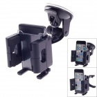 Universal 360 Degree Rotation Air Outlet Car Holder Bracket for Smartphone - Black