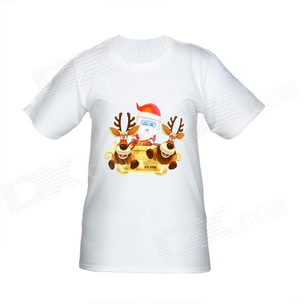 Santa DXMan Short Sleeves T-shirt for Women
