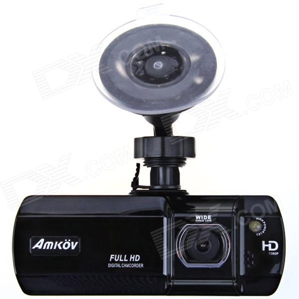 Amkov ZOOM-007 2.7 TFT 1080P 5.0 MP 135 Degree Wide Angle Car DVR Camcorder w/ AV-out, TF, HDMI удлинитель zoom ecm 3