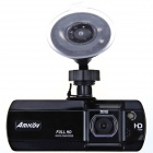 "Amkov ZOOM-007 2.7"" TFT 1080P 5.0 MP 135 Degree Wide Angle Car DVR Camcorder w/ AV-out, TF, HDMI"