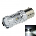 1156 / BA15S / P21W 30W 600lm 6-Cree LED White Car Steering Light / Tail Light - (12~24V)