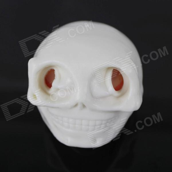 Terror Ghost head Vent Toy - White