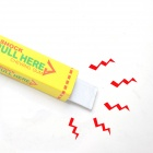 One percent Electricity People Chewing Gum Shock Tricky Toy - Yellow