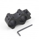 Brinyte AS002 25mm Aluminum Alloy Hunting Gun Scope Mount for AK47 - Black