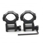 Brinyte X015 25.4mm Aluminum alloy Gun Mount for LED Flashlight - Black