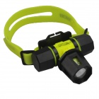SingFire 2-Mode 600lm White Zoomable focus Diving Headlamp w/ Cree XM-L T6 (1 x 18650 / 3 x AAA)