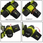 SingFire 600lm 2-Mode Branco Zoomable concentrar Farol Diving w / Cree XM-L T6 (1 x 18650/3 x AAA)