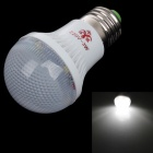 NIUDEHEN E27 3W 96lm 6500K 8-LED White Light Energy-saving Lamp Bulb - White (AC 150~260V)