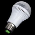 NIUDEHEN E27 5W 180lm 6500K 15-LED White Light Energy-saving Lamp Bulb - White (AC 150~260V)