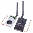 PARTOM FPV-5812 5.8G 1.2W AV Sender Transmitter + FOX-R58 Receiver Set for FPV Telemetry System