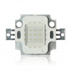 10W 700lm 3er und 3 in Parallel Integrierte LED Green Light Source-Modul - Silber (9 ~ 12V)