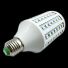 E27 15W 1500lm 6500K 102 x SMD 5050 LED White Light Lamp Bulb - White + Silver (AC 220~240V)