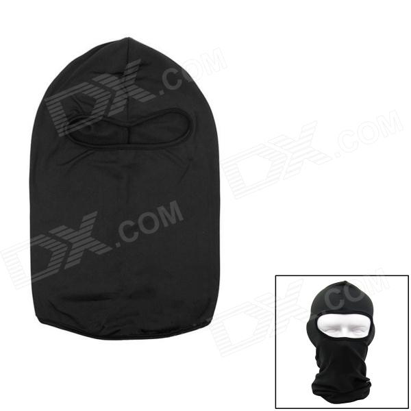 Outdoor Sports Cycling Thicken Warmer Wind Resistant Hat - Black (Free Size)