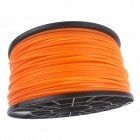 Heacent P003OR Impresoras 3D dedicado 3mm filamento PLA materiales de impresión - Orange (1kg)