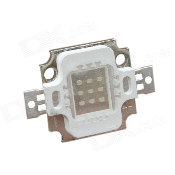 10W 40lm 465nm 3 Series 3 in Parallel Integrated LED Blue Light Source Module - Silver (9~12V)