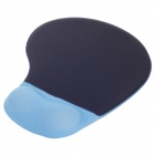 MP-1800 Mouse Pad with Gel Wrist Support - Black + Blue